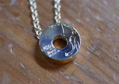 Gouden medaille hanger